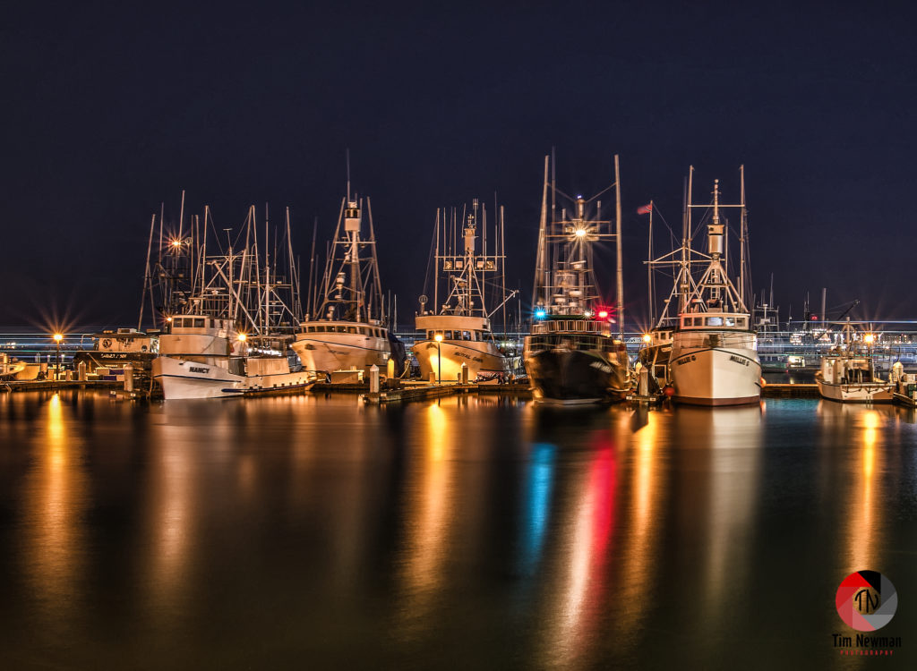 Tuna Harbor San Diego Harbor Night Photography Tuna Boats Fishing Boats Seaport Village Boats Harbor Harbour Docked Boats Docked Small Boats