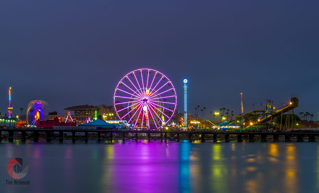 San Diego County Fair, Fair, Ferris Wheel, Reflections, Del Mar Fair, Del Mar, Fairgrounds, Del Mar Fairgrounds